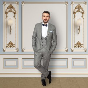 wear Kensington grey 3 piece suit with 891 2656 300x300