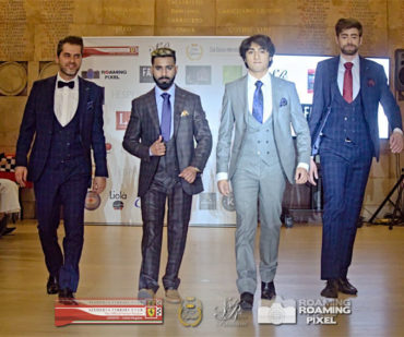 our suits hit the catwalk at Scuderia Ferrari Club London event 370x309