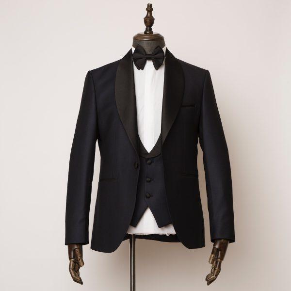 Barbican 3 piece navy tuxedo 1 600x600