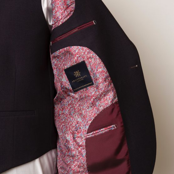 Bloomsbury Burgundy 3 Piece Suit