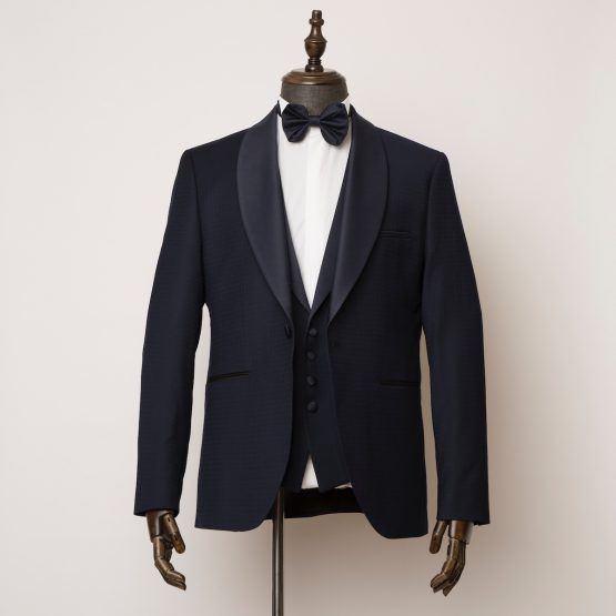 Marlow 3 piece midnight blue tuxedo 1 555x555
