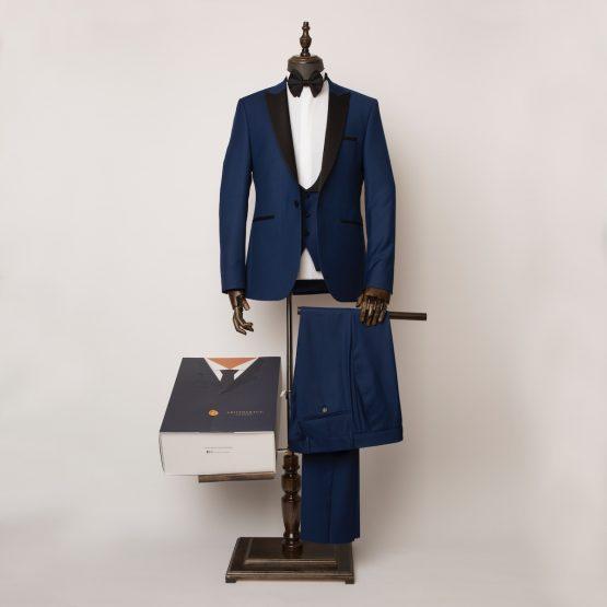 Mayfair 3 Piece Blue Tuxedo