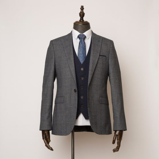 Wilmslow grey 3 piece suit 1 555x555