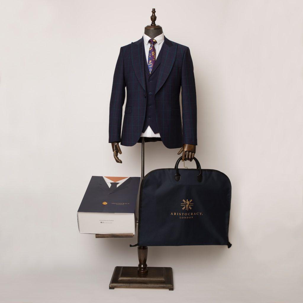 Wimbledon navy green 3 piece suit 9 1024x1024