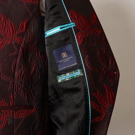 Angel Red 3 Piece Nehru Suit 0305 B2L 555x555