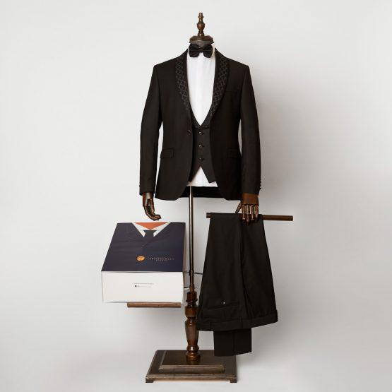 Bray Black 3 Piece Dinner Suit