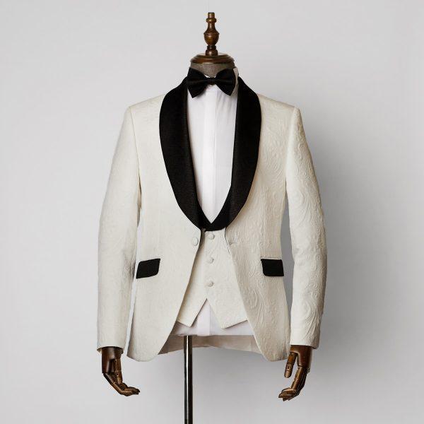 Essex 3 Piece White Tuxedo 1401 B1L 600x600