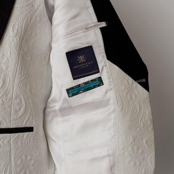 Essex 3 Piece White Tuxedo 1405 B1L 555x555