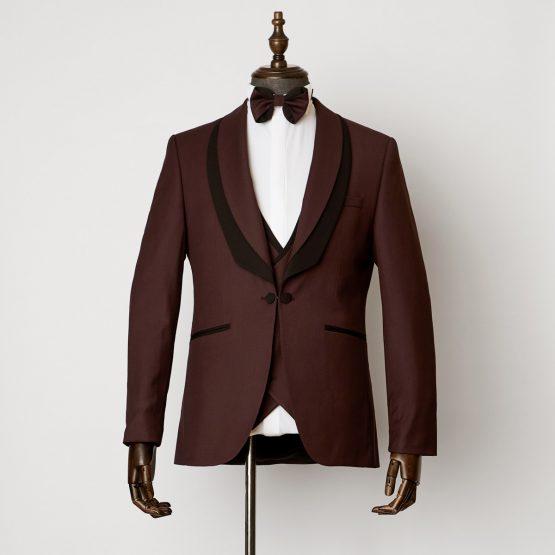 Hale 3 Piece Burgundy Black Tuxedo 0601 B1L 555x555