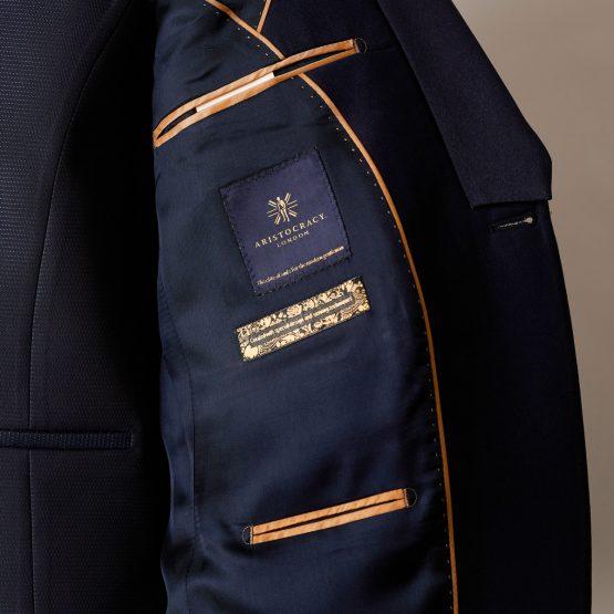Hampton Navy 3 Piece Suit