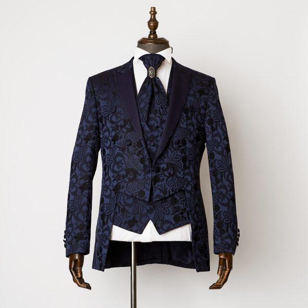 Windsor Blue 3 Piece Short Tailcoat Suit 1301 B2L 600x600