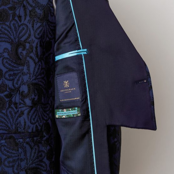 Windsor Blue 3 Piece Short Tailcoat Suit