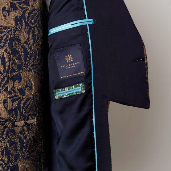 Windsor Gold 3 Piece Short Tailcoat Suit 0505 B1L 555x555