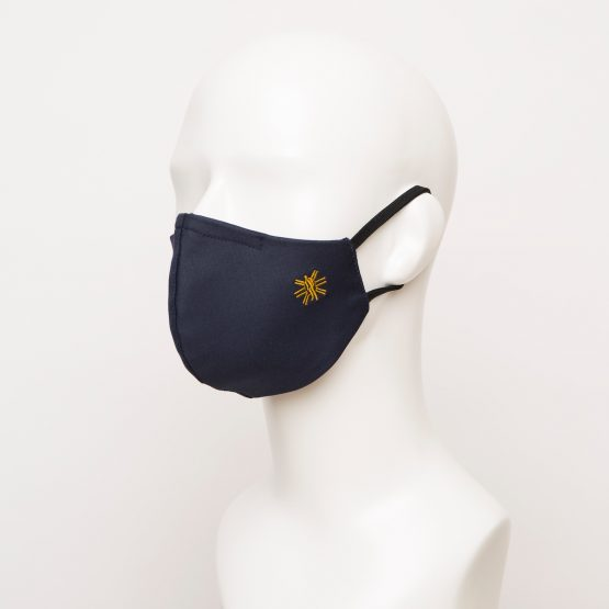 Navy Curved Face Mask 1 24866 555x555