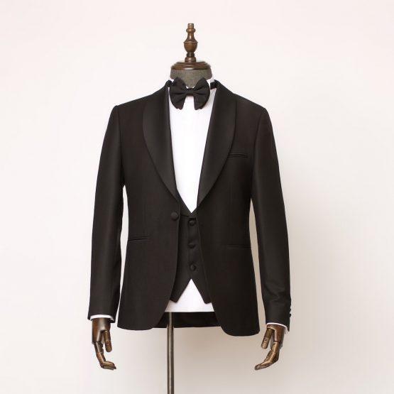 Barbican 3 Piece Black Tuxedo 1 555x555