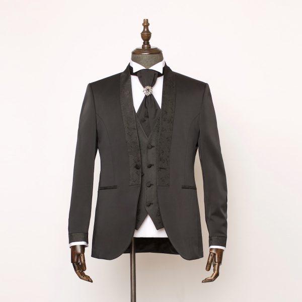Gloucester Black 3 Piece Suit 1 600x600