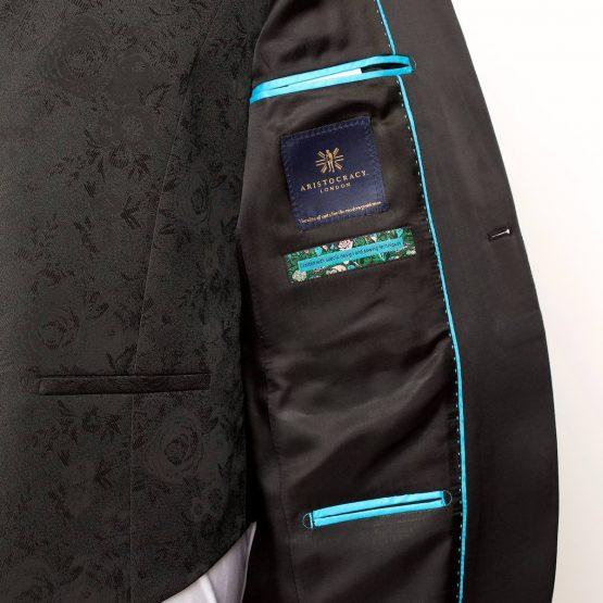 Gloucester Black 3 Piece Suit