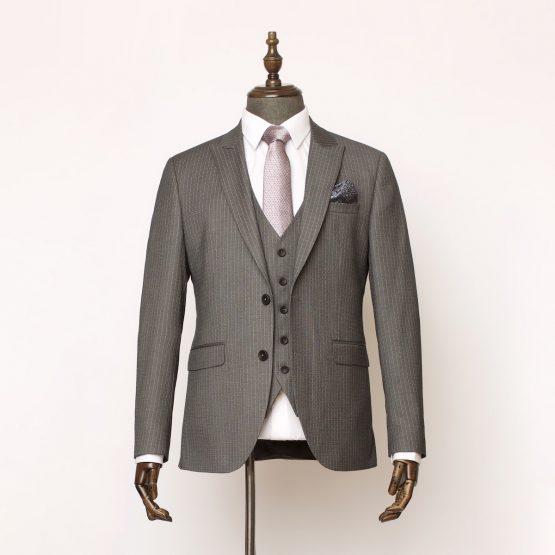 Holborn Grey Pinstripe 3 Piece Suit 1 555x555