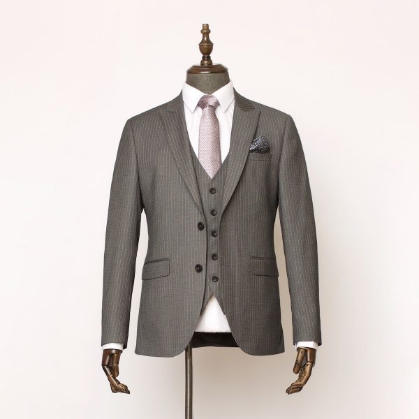 Holborn Grey Pinstripe 3 Piece Suit 1 600x600
