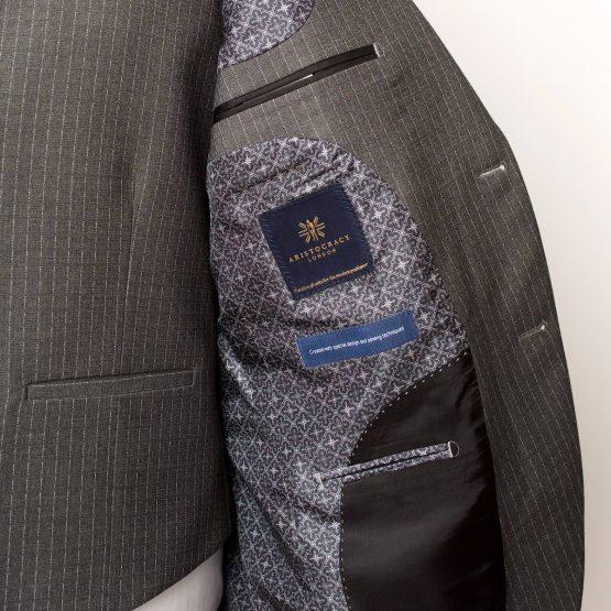 Holborn Grey Pinstripe 3 Piece Suit 2 555x555