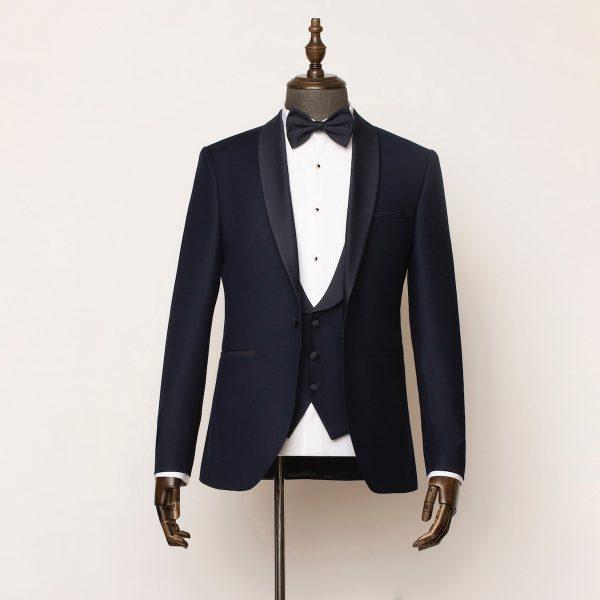 Marlow 3 Piece Navy Tuxedo 1 600x600