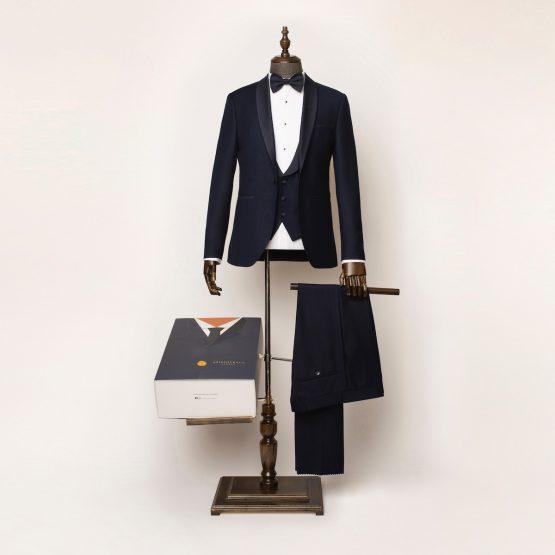 Marlow 3 Piece Navy Tuxedo 2 555x555